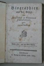 Venturini, Carl Heinrich Georg, Biographien a.d. Bibel