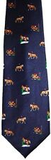 HORSE JUMPING NECKTIE NEW TIE EQUESTRIAN SHOW 3 DAY EVENT DRESSAGE CROSS COUNTRY