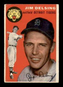 1954 Topps Set Break # 111 Jim Delsing VG *OBGcards*