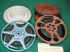 Pair of 16mm Reels of Medical procedure film vintage 8mm & 16mm not viewed