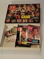 Vintage 1984 TV Guide's TV Board Game - Classic - NICE AND COMPLETE!