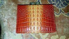 Vintage Croc/Alligator Embossed ~ Change Purse Bi fold Wallet