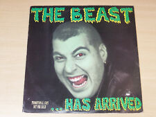 EX/EX- !! The Beast/Has Arrived/1985 Napalm Records LP/Punk