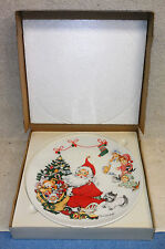 """Goebel Collecter Plate by Charlotte Byj """"1973 Happy Holiday"""""""