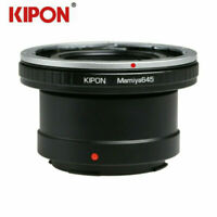 Kipon Adapter for Mamiya 645 M645 Mount Lens to Panasonic L Leica SL TL Camer
