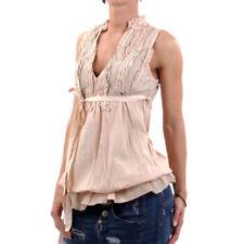 Maglie e camicie da donna Blusa in misto cotone taglia S