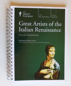 Great Artists of the Italian Renaissance Kloss Spiral Bound Course Guidebook 04