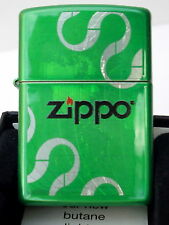 Original ZIPPO Feuerzeug Zippo Logos Grün Ice Process  2002593 Neu & OVP