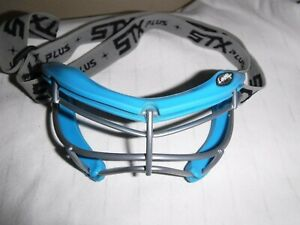 STX 4 Sight Plus Womens Lacrosse Eye Guard Field Hockey Protection Blue