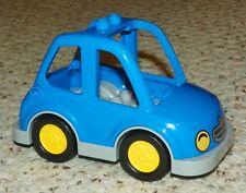 LEGO - Duplo Car High Cab w/ Headlights & Duplo Rabbit, Yellow Hubs / Tires