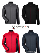 NEW Spyder Men's Constant Full-Zip Sweater Fleece Active Jacket, S-3XL, 5 Colors