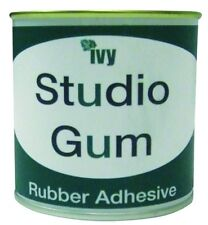 Ivy Studio Gum Rubber Adhesive Glue Cow Gum Arts Craft Tin Can 250ml
