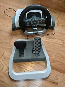 Microsoft Xbox 360 Wireless Steering Wheel and Pedal