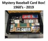 BASEBALL CARD BOX mixed lot