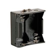 Boitier Coupleur pour 2 Piles 1,5 Volt R20 avec Contacts a Pression