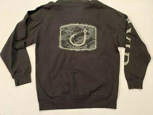 Avid Gear New Camo Hook Fishing Sweatshirt Fishing Gear Mens Large MSRP $60