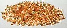 2.5mm to 2.6mm Nigerian Gold Spessartite Garnet Round Accent Stone