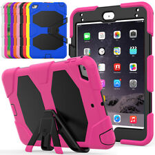 Military Defender Stand Shockproof Built in Screen Protector Case For iPad mini