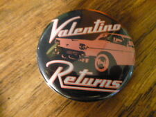 Valentino Returns Pin Back Movie Promotional Button Promo Vintage Video Store