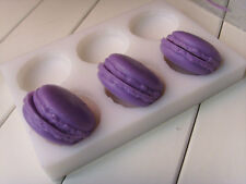 Soap Mold 6-Cavity Half Macarons Flexible Silicone Mold For Soap  Resin Clay