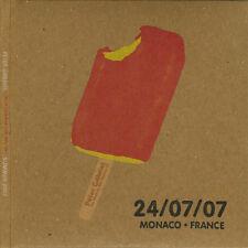 PETER GABRIEL Encore Series LIVE 2CD Monaco 24/07/2007 NEW