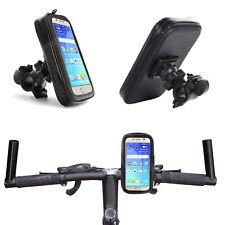 1A Fahrrad Halterung Wasserdicht Handy Halter Tasche Bike für HTC U11+ Plus