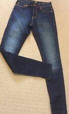LEE Mid Licks denim skinny jeans 7-as new