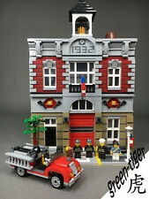 C111 Custom set for Fire station Brigade fit to lego 10197 series