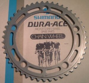 Shimano Dura Ace 47Tx 122 -Pitch 10MM FC-7000 Track Chainring Vintage- Low Miles