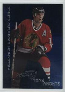 1999 ITG Be A Player Millennium Signature Series Sapphire /100 Tony Amonte #56