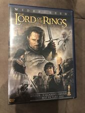 ☆☆The Lord of the Rings: The Return of the King (Dvd, 2004, 2-Disc Set)☆☆
