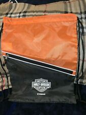 HARLEY-DAVIDSON MOTORCYCLES  NYLON BACKPACK WITH EYEGLASS HOLDER NEW
