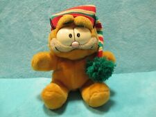 1981 Dakin Garfield - Winter Hat - Soft Plush Stuffed Glove Hand Puppet Toy 9""