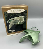 Star Trek Romulan Warbird Ornament Hallmark Keepsake