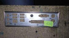 Panneau shield i/o Asus A8NE-FM/S REV 2.00 plaque arriere