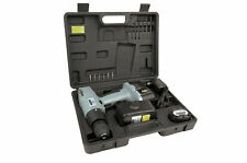 Brothers Mannesmann Drill Cordless Drill Screwdriver Tool Set