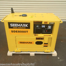 6.0kVA RCD Protected Diesel Generator