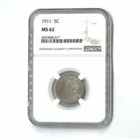 1911 Liberty Nickel NGC MS62 #8017100