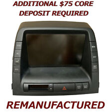 REMAN 2004 2005 Toyota Prius MFD Multi Information Display 86110-47071 EXCHANGE