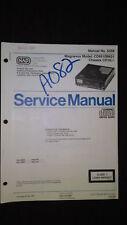 magnavox cd9510 05 Service Manual Original Factory Repair cd player compact disc