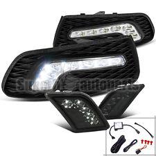 2008-2011 Mercedes-Benz W204 C-Class SMD LED Fog Lights+Smoke LED Bumper Lights