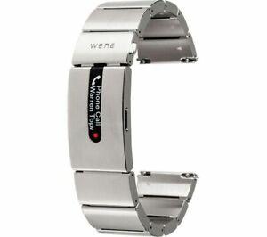 SONY Wena Wrist Pro WNW-B11B/S Smartwatch Band - Silver