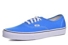 cdc8ff38ea VANS Authentic Mens Skydiver Blue True White Canvas Boat Shoes Size 11.5