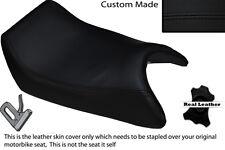 BLACK STITCH CUSTOM FITS APRILIA AF1 125 88-91 SINTESI FRONT LEATHER SEAT COVER