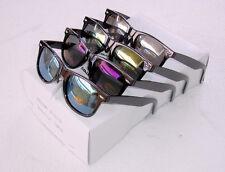 LOT of 4 Mirror Lens Vintage Retro Sunglasses 80's adult's style unisex fashion