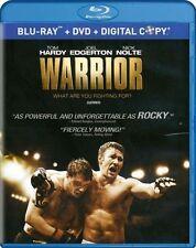 Warrior (Blu-ray/DVD, 2011, Canadian) Bilingual Free Shipping In Canada