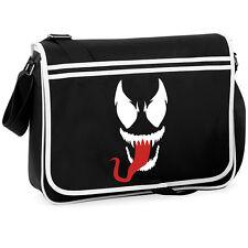 Venom Spider-Man Villain College Sac Bandoulière Messenger Geek Retro