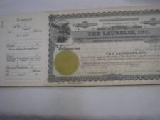 1951 LAURELEI CALIFORNIA US Stock Certificates x 250 Shares