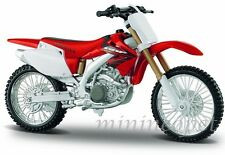 MAISTO 31104 HONDA CRF450R CRF 450R 1/12 DIRT BIKE RED