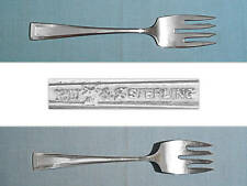 Vintage Wallace Sterling Salad Fork ~ Cabot ~ No Mono